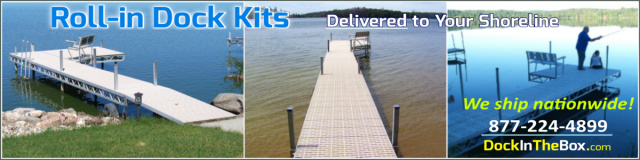 Lake Boat Dock Kits Delivery