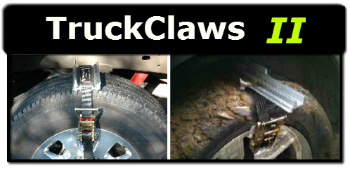 Truck Claws Snow Tire Chain Traction for Commercial Truck